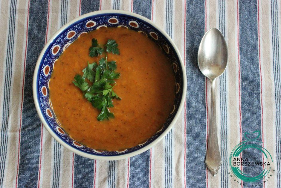 zupa dyniowo-marchewkowa