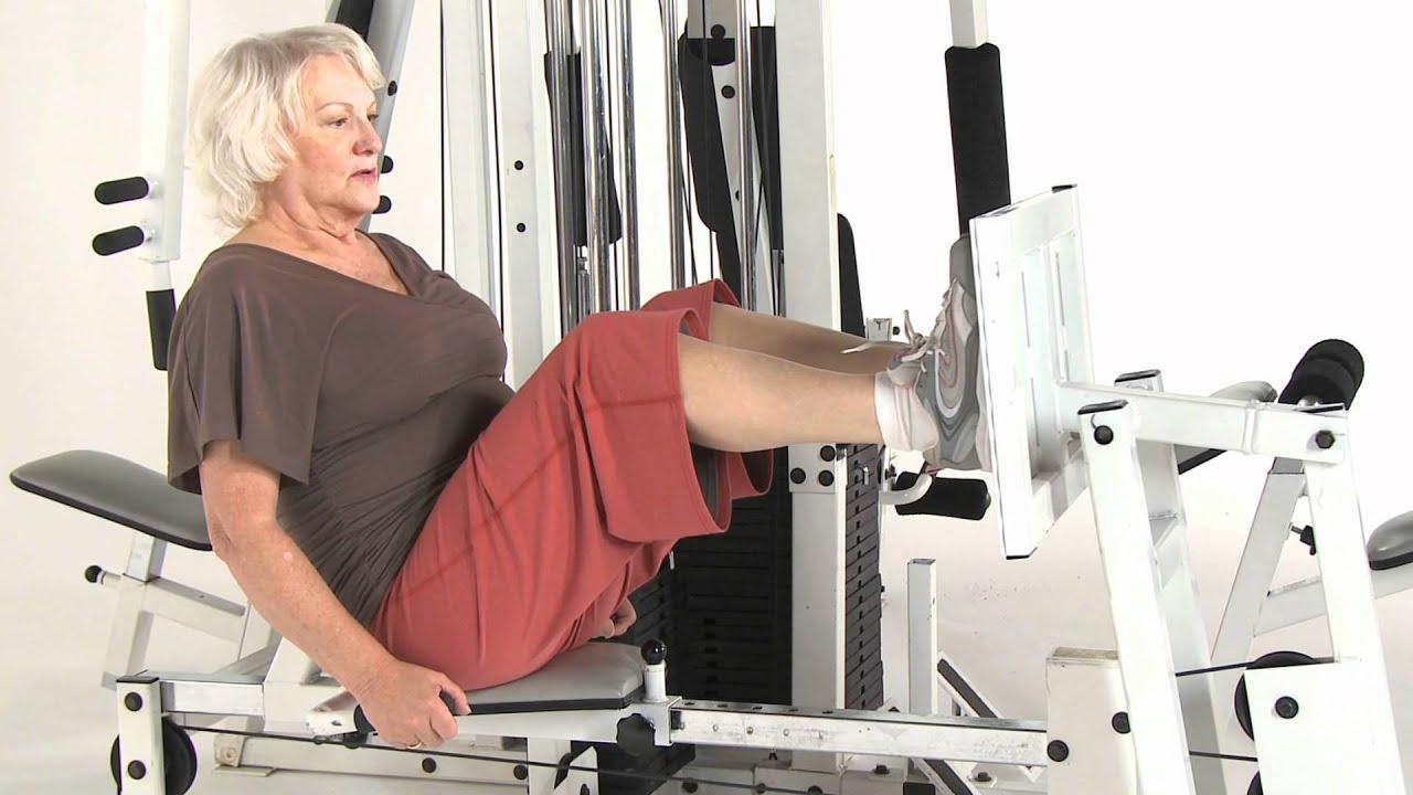 Trening siłowy osób starszych